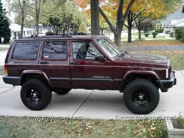 Dcfc on 1995 Jeep Cherokee Cut Top